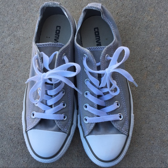 6c7fdb5ac2dc Converse Shoes - Chuck Taylor All Star Gray Converse Size Women s 7